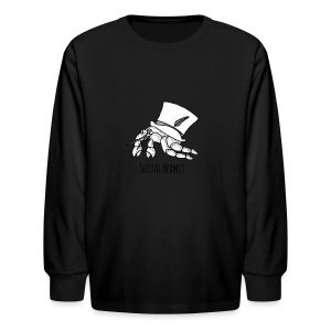 SocialHermit - Kids' Long Sleeve T-Shirt