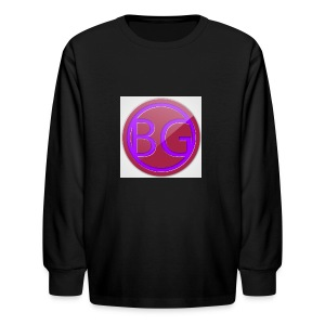 Brother Gaming 2016 logo apparel - Kids' Long Sleeve T-Shirt