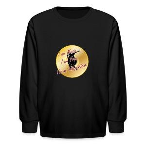 Indie Artist (Rapper/Hip Hop) - Kids' Long Sleeve T-Shirt