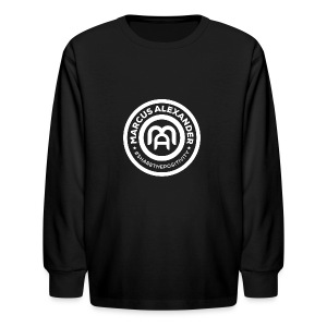 Marcus Alexander Official Logo - Kids' Long Sleeve T-Shirt