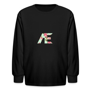 AE Floral design - Kids' Long Sleeve T-Shirt