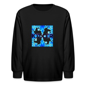 My Main Logo - Kids' Long Sleeve T-Shirt