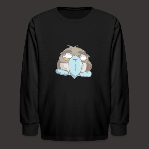 Cute Boobie Bird - Kids' Long Sleeve T-Shirt