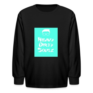 HeavyDirtySoulz Logo - Kids' Long Sleeve T-Shirt