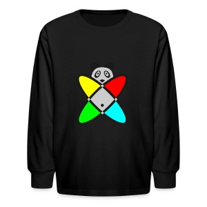 SCIENCE PANDA - Kids' Long Sleeve T-Shirt