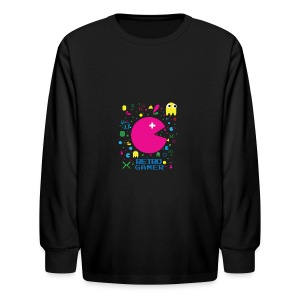RETRO GAMER - Kids' Long Sleeve T-Shirt
