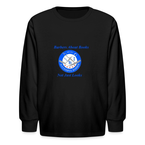 BarberShop Books - Kids' Long Sleeve T-Shirt