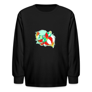 Psychedelic Lion - Kids' Long Sleeve T-Shirt