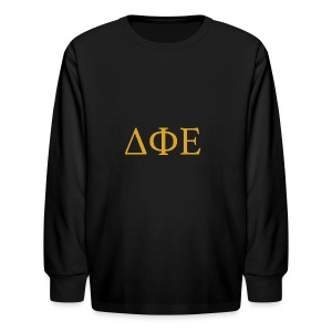 Good Ol Letters - Kids' Long Sleeve T-Shirt