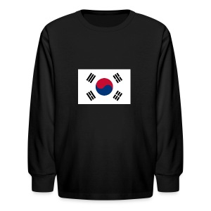 Flag of South Korea - Kids' Long Sleeve T-Shirt