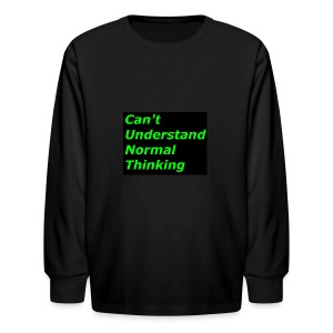 what C*** stands for - Kids' Long Sleeve T-Shirt