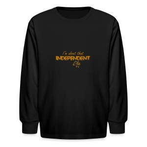 The Independent Life Gear - Kids' Long Sleeve T-Shirt