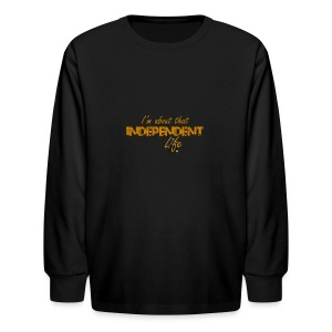 The Independent Life Gear - Kids' Long Sleeve T-Shirt