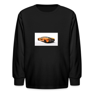 ChillBrosGaming Chill Like This Car - Kids' Long Sleeve T-Shirt
