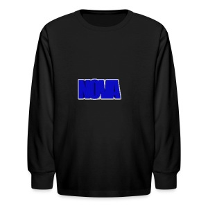 youtubebanner - Kids' Long Sleeve T-Shirt