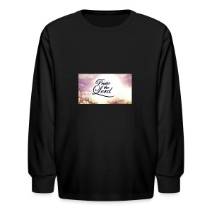 Praise The Lord T-Shirt - Kids' Long Sleeve T-Shirt