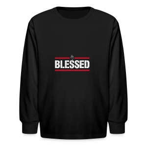 Blessed Tee - Kids' Long Sleeve T-Shirt