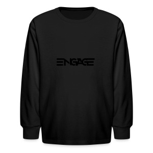 Engage-Logo-Vector - Kids' Long Sleeve T-Shirt