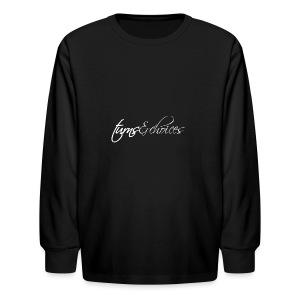 Turns & Choices - Kids' Long Sleeve T-Shirt