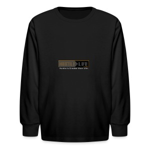 Hustle_Life - Kids' Long Sleeve T-Shirt