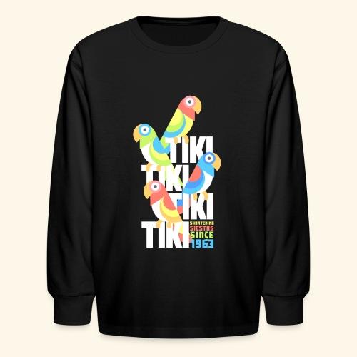 Tiki Room - Kids' Long Sleeve T-Shirt
