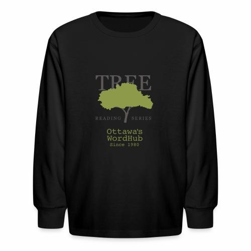 Tree Reading Swag - Kids' Long Sleeve T-Shirt
