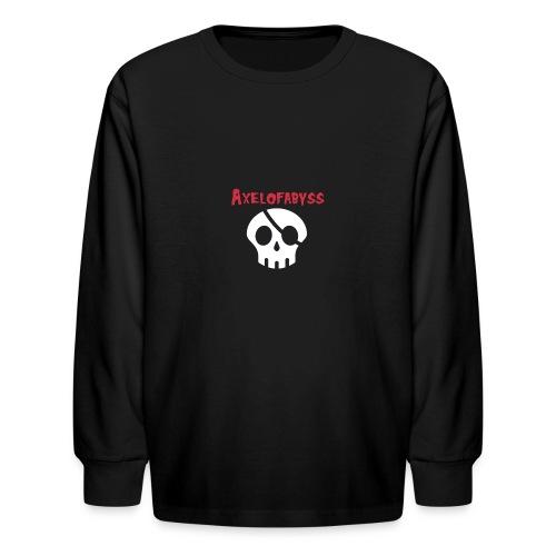 Skull pirate - Kids' Long Sleeve T-Shirt
