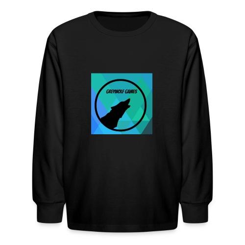 Logo TO Merch - Kids' Long Sleeve T-Shirt