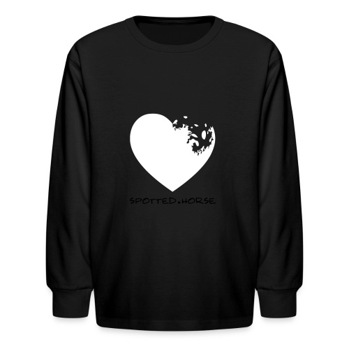Appaloosa Heart - Kids' Long Sleeve T-Shirt