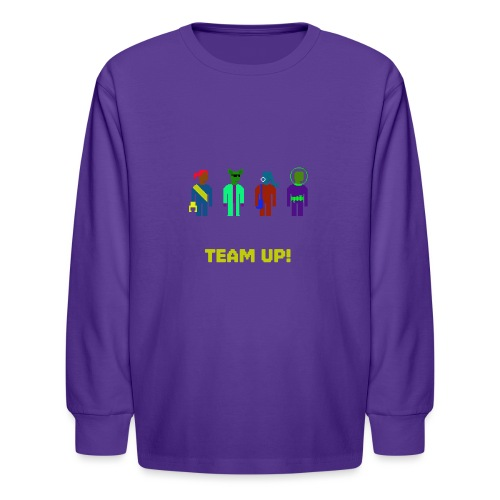 Spaceteam Team Up! - Kids' Long Sleeve T-Shirt