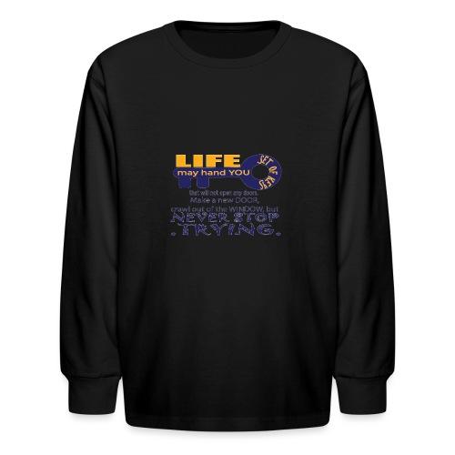PJeans4 - Kids' Long Sleeve T-Shirt