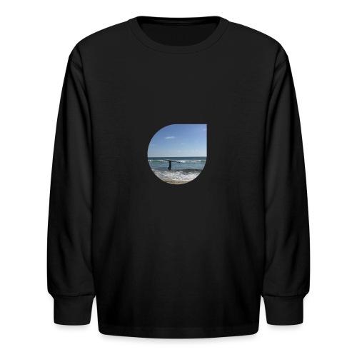 Floating sand - Kids' Long Sleeve T-Shirt