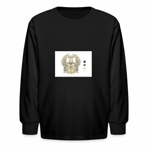 CREST HOODIE - Kids' Long Sleeve T-Shirt