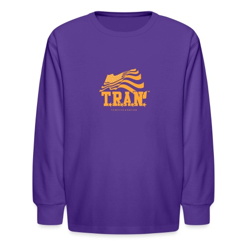 TRAN Gold Club - Kids' Long Sleeve T-Shirt