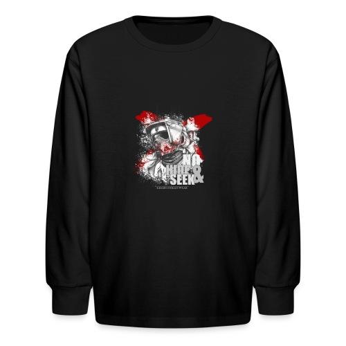 No hide & Seek - Kids' Long Sleeve T-Shirt