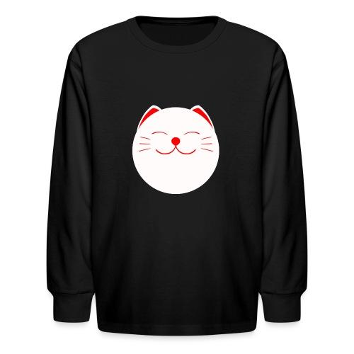 neko - Kids' Long Sleeve T-Shirt