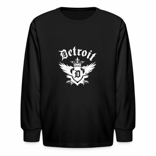DETROIT ROYALTY - Kids' Long Sleeve T-Shirt