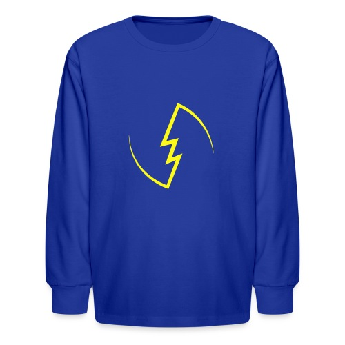 Electric Spark - Kids' Long Sleeve T-Shirt