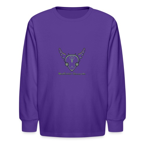 ModGoblin mouse pad - Kids' Long Sleeve T-Shirt