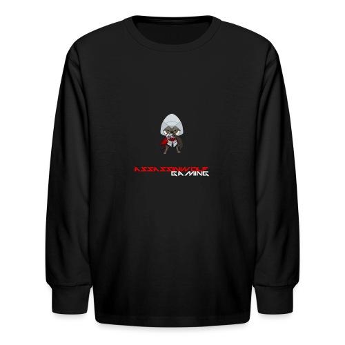 heather gray assassinwolf Tee - Kids' Long Sleeve T-Shirt