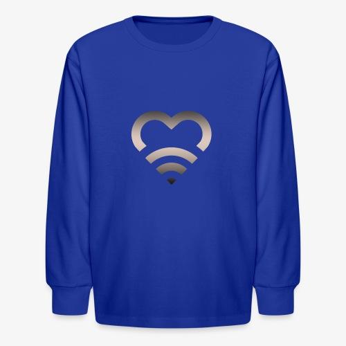 I Heart Wifi IPhone Case - Kids' Long Sleeve T-Shirt