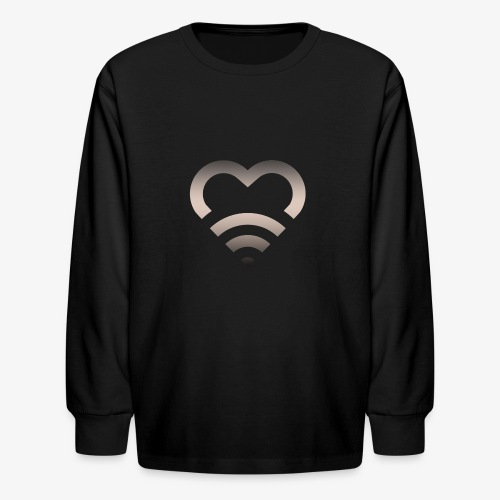 I Heart Wifi IPhone Case - Kids' Long Sleeve T-Shirt