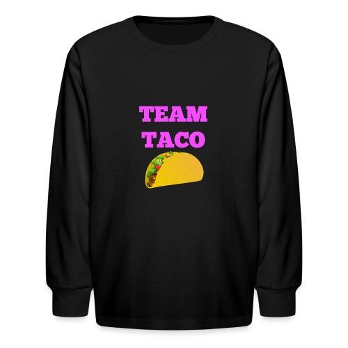TEAMTACO - Kids' Long Sleeve T-Shirt