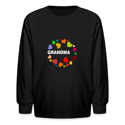 Grandma - Kids' Long Sleeve T-Shirt