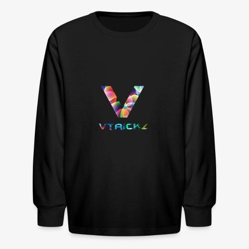 New logo - Kids' Long Sleeve T-Shirt
