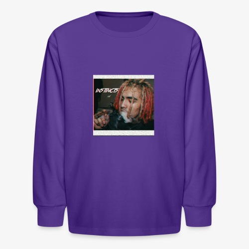 Instincts signature Shirt. Limited Edition - Kids' Long Sleeve T-Shirt