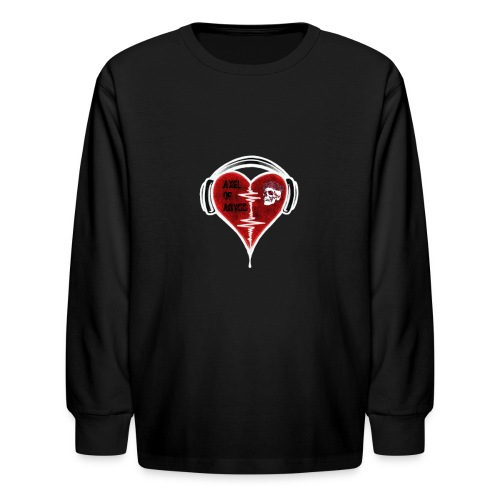 Axelofabyss Music in your heart - Kids' Long Sleeve T-Shirt