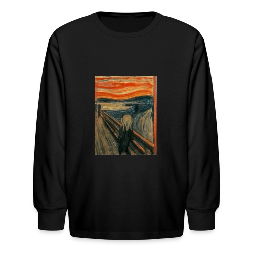 The Scream (Edvard Munch) - Kids' Long Sleeve T-Shirt