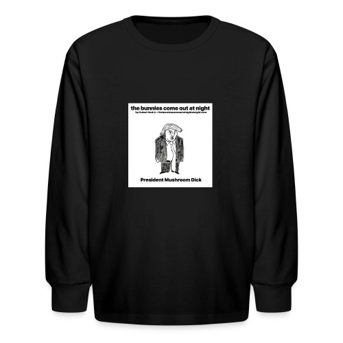 tbcoan Mushroom Dick - Kids' Long Sleeve T-Shirt