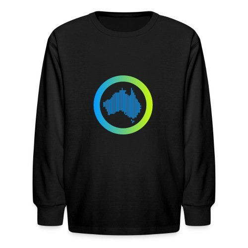 Gradient Symbol Only - Kids' Long Sleeve T-Shirt